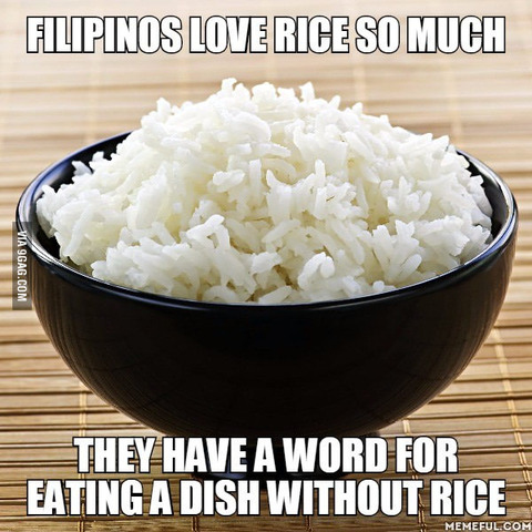 「フィリピンは米が好き過ぎるせいで特別な用語まで存在してる」海外の反応