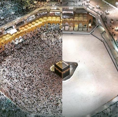 「メッカのカアバ神殿がコロナウイルスのため一時的に閉鎖」海外の反応