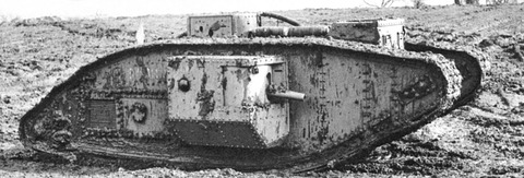 British_Mark_V_(male)_tank