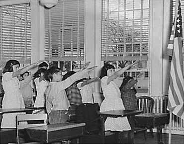 Students_p_Bellamy_salute