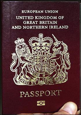 パスポートUK