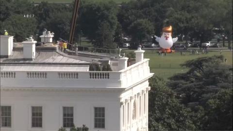 「ホワイトハウスの裏で起こっていることが話題に」海外の反応