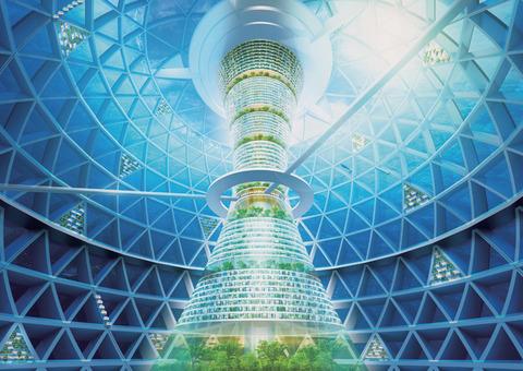 「清水建設による未来の水中都市のコンセプトデザイン」海外の反応