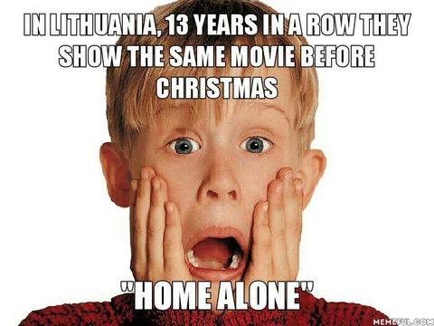 リトアニア人「外国でもクリスマス前に必ず『ホームアローン』が放送されるのか」海外の反応