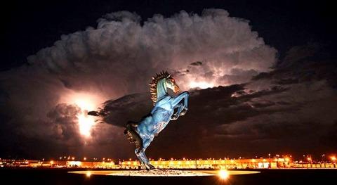 Denver-International-Airport-Conspiracy-Art-Blue-Laser-Horse1