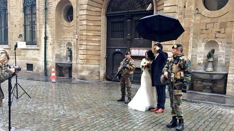 「テロに対する厳戒態勢が敷かれたブリュッセルの現在の様子」海外の反応