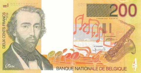 Belgian-200-Franc-Banknote1995