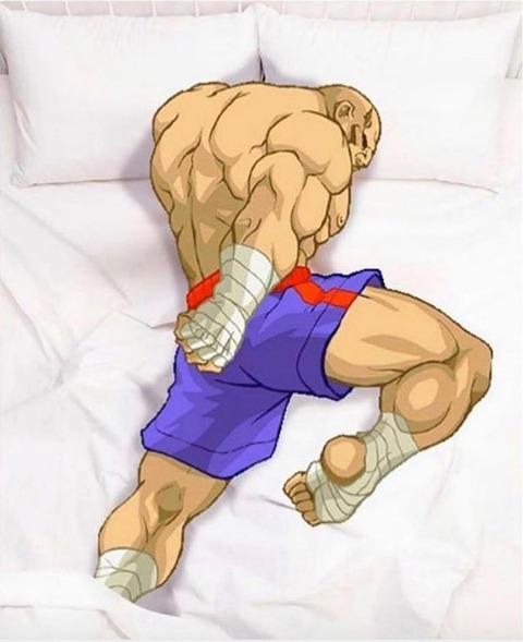外国人「ストリートファイターのタイガーニーは寝る姿勢として最高だと思う」海外の反応