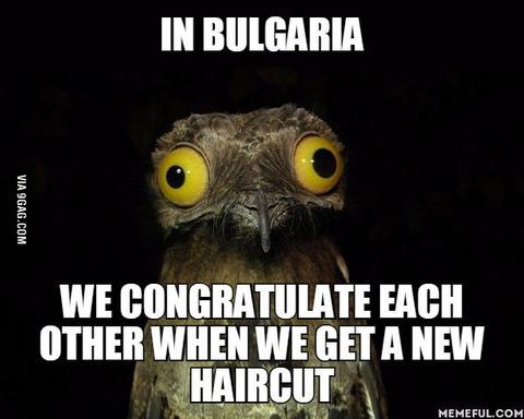 「ブルガリアには誰かが散髪するとお祝いの言葉を言う奇妙な伝統がある」海外の反応