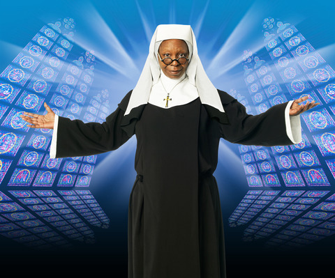 SISTER ACT Whoopi Goldberg