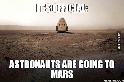 「火星への有人航行計画のための法案を米議会が195億ドルの予算で可決」海外の反応