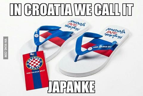 「クロアチアではサンダルは『日本人女性』と呼ばれてる。外国は?」海外の反応