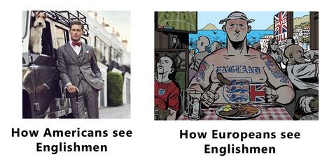 「欧州人と米国人ではイギリス人に対するイメージが全く違う」海外の反応