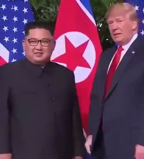 「トランプと金正恩が初の会談をし、非核化の共同宣言に合意」海外の反応