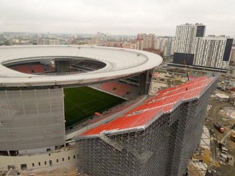 「ロシアがWC仕様にしたサッカースタジアムのスタンドが怖い」海外の反応