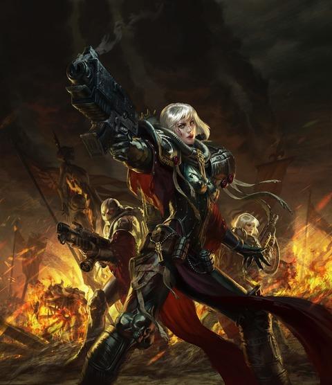 Sister_of_Battle_Anna_Steinbauer