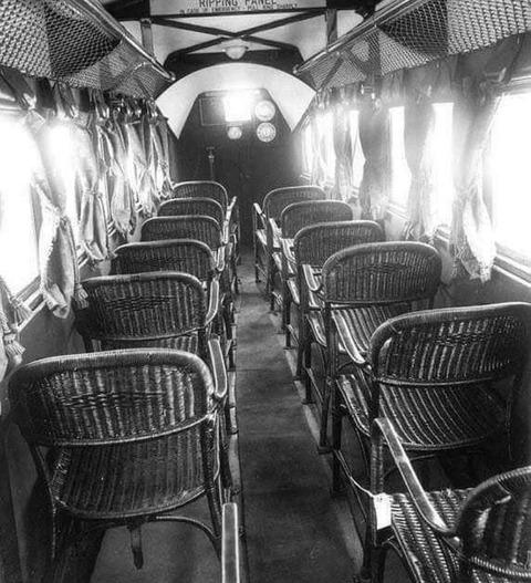 「1930年頃の民間旅客機の内装がかなりチープ」海外の反応