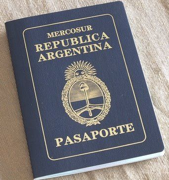 パスポートアルゼンチン