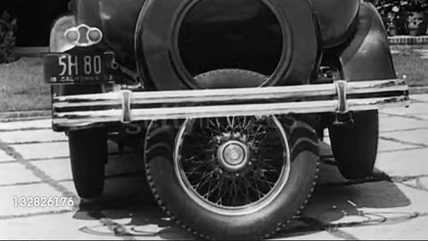 「1933年に考案された駐車用の第五の車輪が海外で話題に」海外の反応