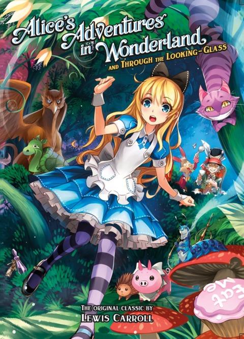「アニメ風の挿絵が大量に入った英語版の不思議の国のアリス」海外の反応