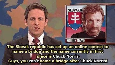 「スロバキアが橋の名称をインターネット上で公募した結果」海外の反応
