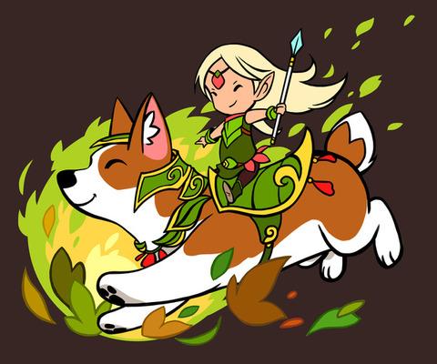 「ウェールズ民話でのコーギーは戦場を駆ける森妖精の騎乗動物」海外の反応