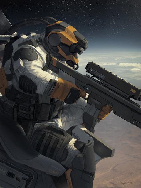 galaxy_saga__applibot__orbital_sniper_by_djahal-d62trdt