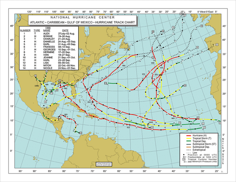 776px-1998_Atlantic_hurricane_season_map