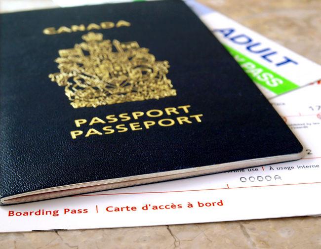 パスポートカナダ