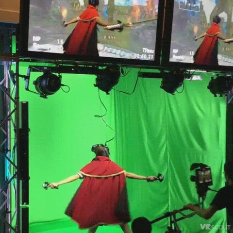「東京ゲームショウでの最新のVRゲームデモが話題に」海外の反応