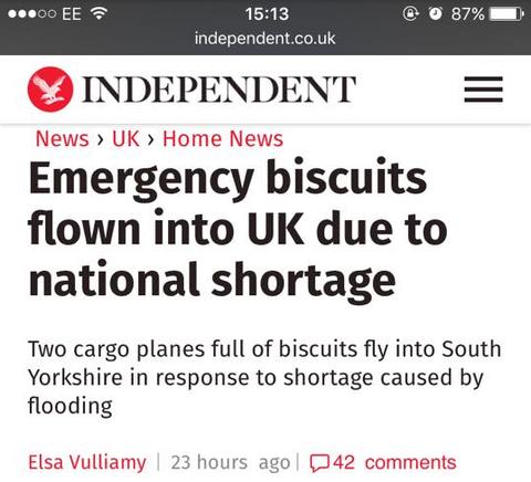外国人「この上なく英国的なニュースが報道された」海外の反応