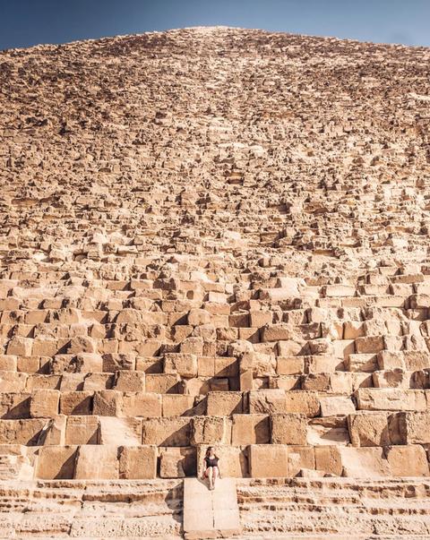 「ピラミッドは実際に見てみないとその大きさが実感できない」海外の反応