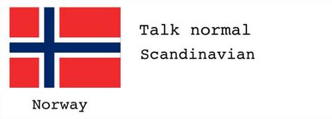 「北欧諸国の言語を話す時の発音のコツを教える」海外の反応