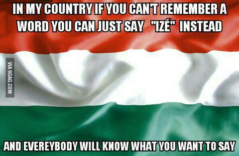 「ハンガリー語には単語を覚えてなくても代用できる便利な単語がある」海外の反応