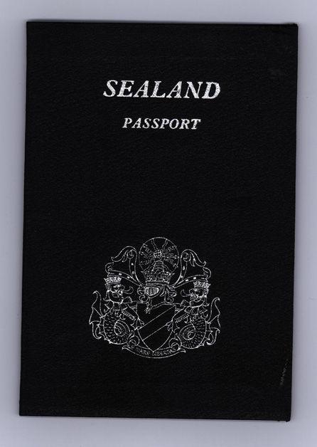 パスポートシーランド公国