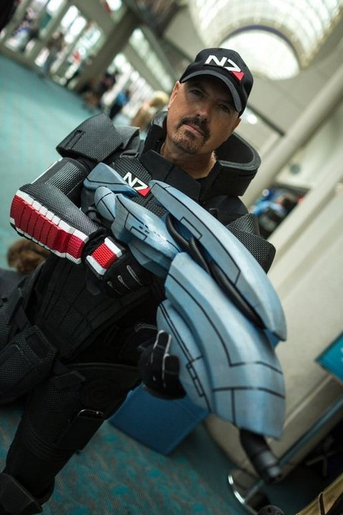 Shepard from Mass Effect
