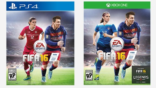 Morgan Sinclair fifa 16 cover