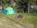 古いテント