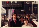 成人式 撤去された歩道橋の上から 小松と加賀美と