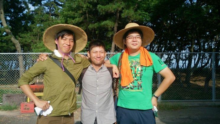の3つで、各団体から、平戸君(左:農水省のおすみつき)、図司君(右:19歳で2団体の代表)、村山君(中央:今後のJA期待の星)が来てくれました(*・ω・)ノ