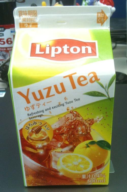 YUZUTEA_Lipton