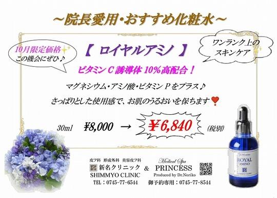 ロイヤルアミノ限定価格2020・09-1