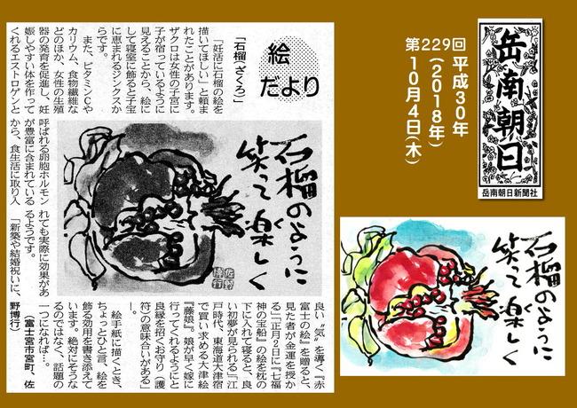 301004ざくろ(岳南新聞)