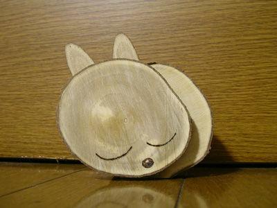 221023 木工 眠る猫