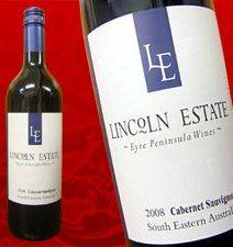 6本setオーストラリア カベルネ2009 LINCQLN ESTATE