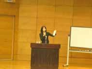 カラーアナリストとしての講演。@横浜市立病院付属大学