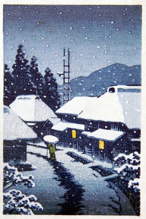 1 雪の寺島