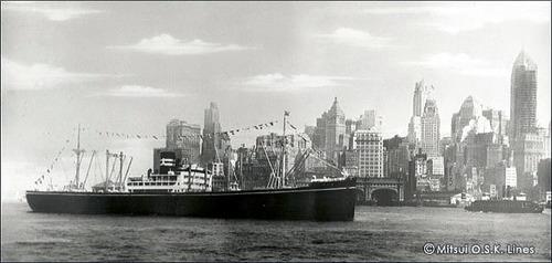 商船三井120年 畿内丸 1930 8365t 大阪商船