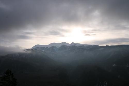 1542御嶽山 R441 から