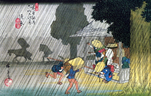 40Hiroshige_People_seeking_shelter_from_the_rain